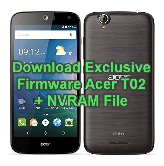 Download Exclusive Firmware Acer T02