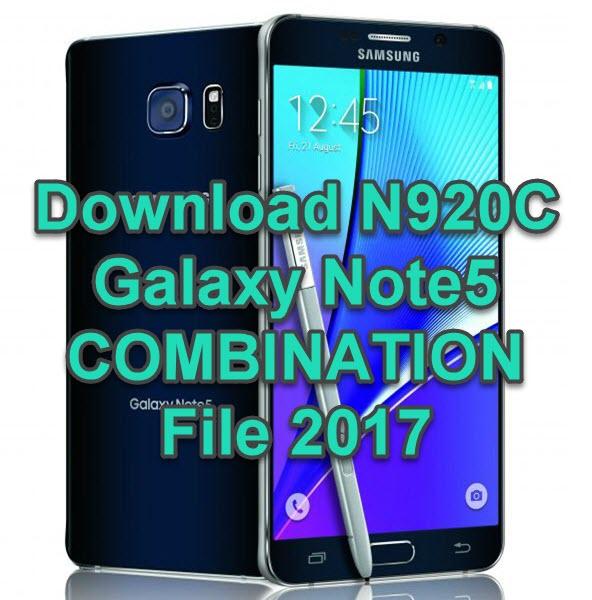 N920C COMBINATION File 2017