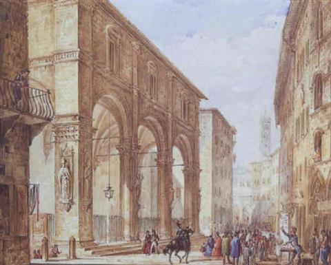 Via di città Siena