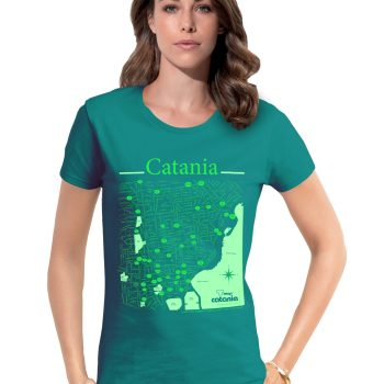 Catania T-shirt T-map