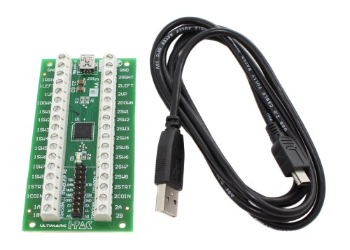 small resolution of ultimarc i pac 2 controller with usb cable