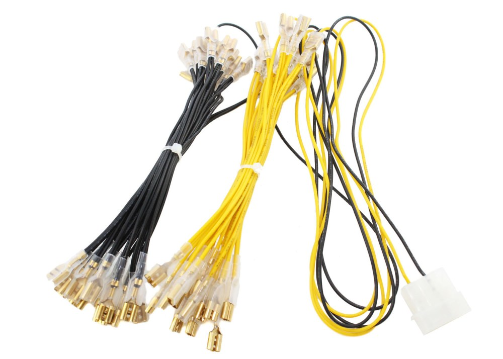 medium resolution of home wire electrical led button wiring harness