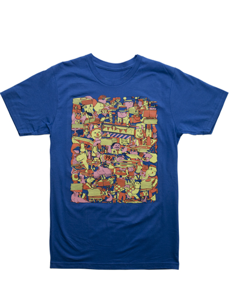 T-Post t-shirt issue 59