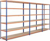 What types of plate shelving?