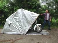 durable motorcycle canopy