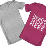 TShirt template Photoshop