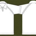 Raglan Collar T-shirt template
