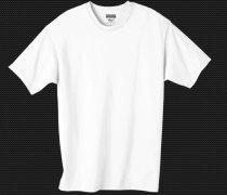 blank T-shirt template white psd
