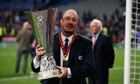 Rafael Benítez sad to see Chelsea reign end after Europa League success - video