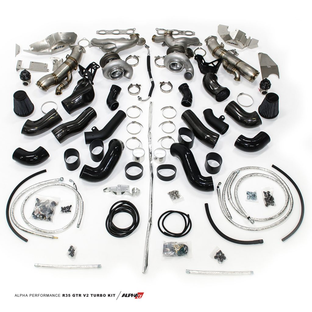 Ets Nissan Gt R Front Facing Drag Turbo Kit