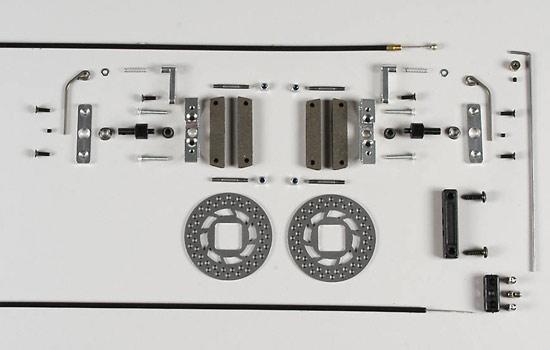FG Modellsport Tuning disk brake F1 rear set