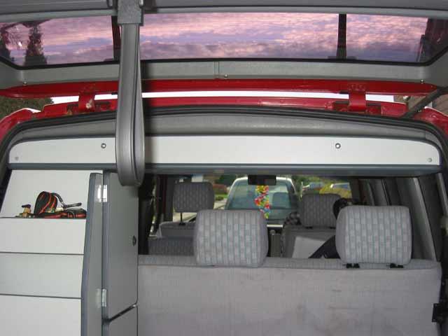 Armario Techo  Altillo para VW T4 con Techo normal  T4