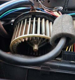 the wires are run up where the trim will cover and they then go down the seat belt pillar i find it easiest to remove the seat belt and run some rigid  [ 1200 x 799 Pixel ]
