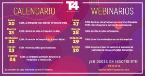 T4 Franquicias amplía el calendario de seminarios gratuitos