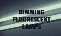 Dimming fluorescent lamps   T5 grow light fixtures