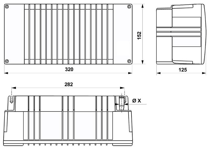 12v Eberspacher / Webasto Water Cabin Heat Exchanger