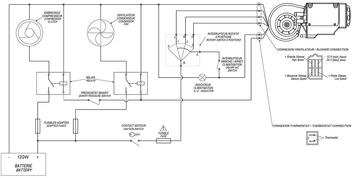 heating cooling wiring diagram