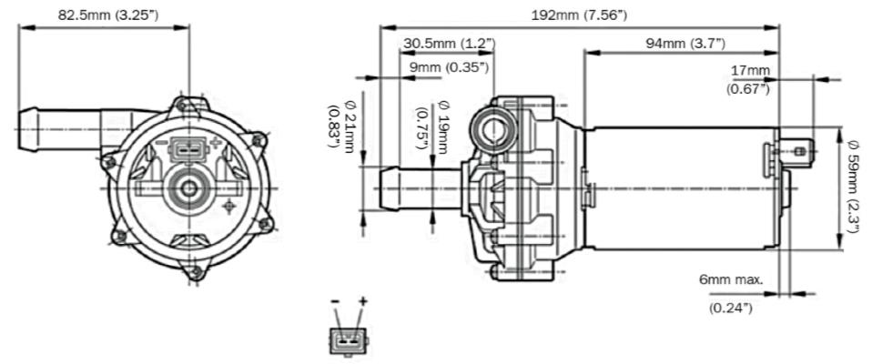 electric water pump wiring kit