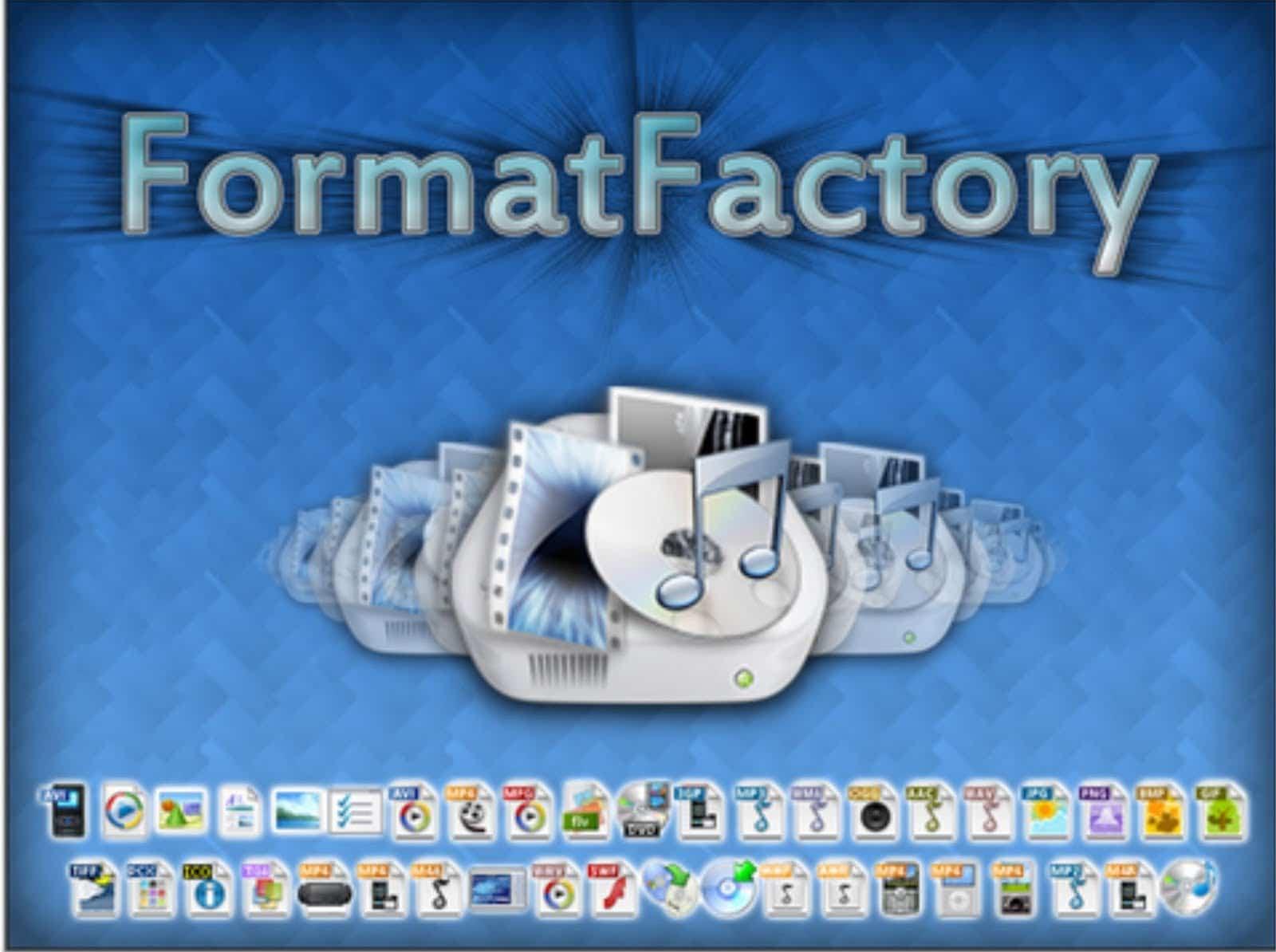 برنامج تحويل الفيديو الى Mp3 للكمبيوتر عربي Format Factory تحميل