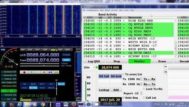 Photo of FT8, FT4, PSK, RTTY, JT65, JT9 Frekansları – Bölge1 İçin