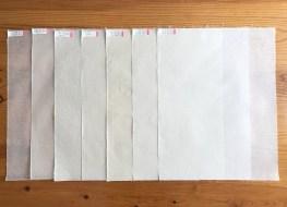 Papier réalisé ce jour-là