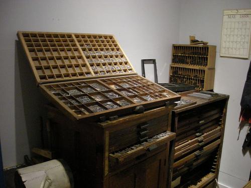 Een ouderwetse lekkerbak voor een drukkerij