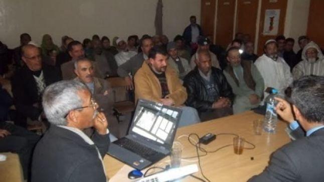 """برنامج """"مسار"""" محور لقاء تواصلي لثانوية عبد الرحيم بوعبيد الإعدادية"""