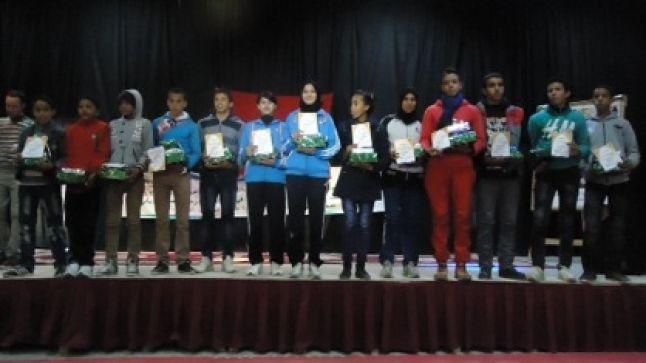 وارزازات: تنظيم حفل على شرف التلميذات و التلاميذ الفائزين في لبطولة الجهوية عدو الريفي