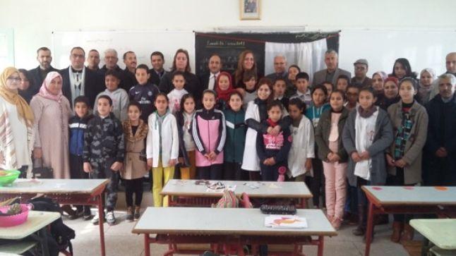 مديرية صفرو: درس نموذجي لتحسين مستوى تلاميذ التعليم  الابتدائي في اللغة الفرنسية