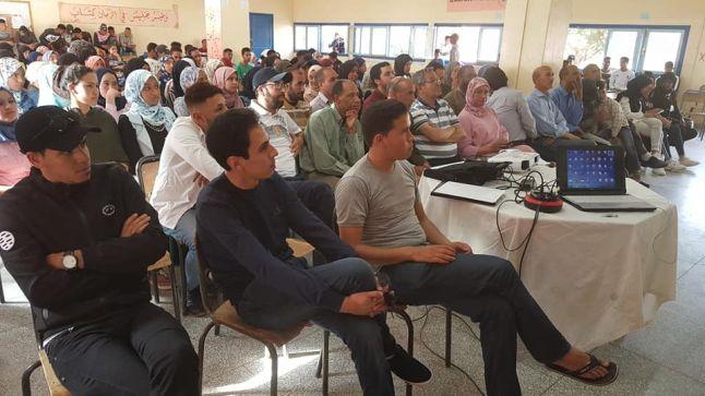 ثانوية الحسن الثاني تنجداد: نادي أصدقاء مولير يختتم برنامجه السنوي