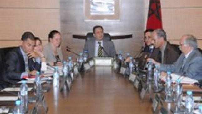 اجتماع لجنة تنسيق مشروع دعم تدبير المؤسسات التعليمية PAGESM