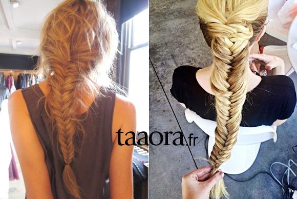 tresse en epi de ble taaora blog
