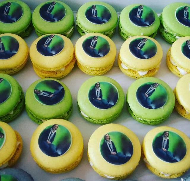 Macarons met foto macarons instamacaron afscheid reviuswijkbijduurstede taartvansab wijkbijduurstede