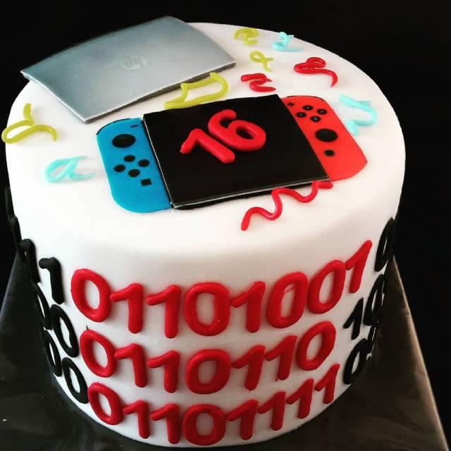 Een taart voor Ivo met als kenmerk   nitendohellip