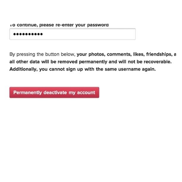 طريقة حذف حسابك من الانستقرام نهائيا من الايفون