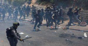 الاشتباكات الفلسطينىة الاسرائيلية