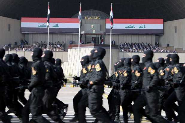 عرض عسكرى عراقى