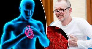 علامات جلطة القلب
