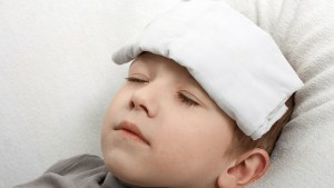 علاج السخونة عند الأطفال -1