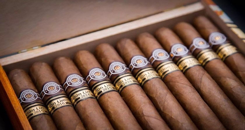 Scatola sigari Montecristo limited edition 2016