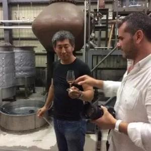 Degustazione rum Nine Leaves Japan