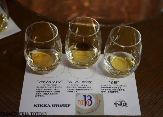 Visita distilleria Miyagikyo Nikka whisky TABACCHERIA TOTO13-8