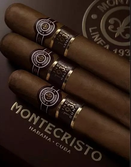 Nuova linea sigari Montecristo 1935