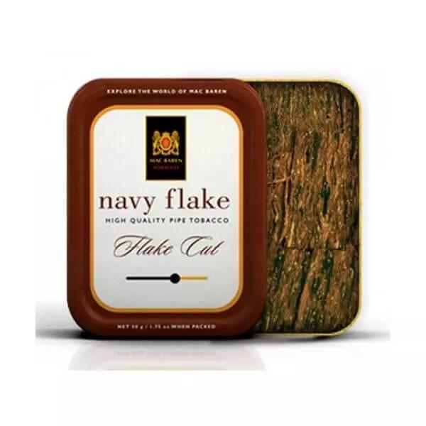 Tabacco da pipa Mac baren navy flake