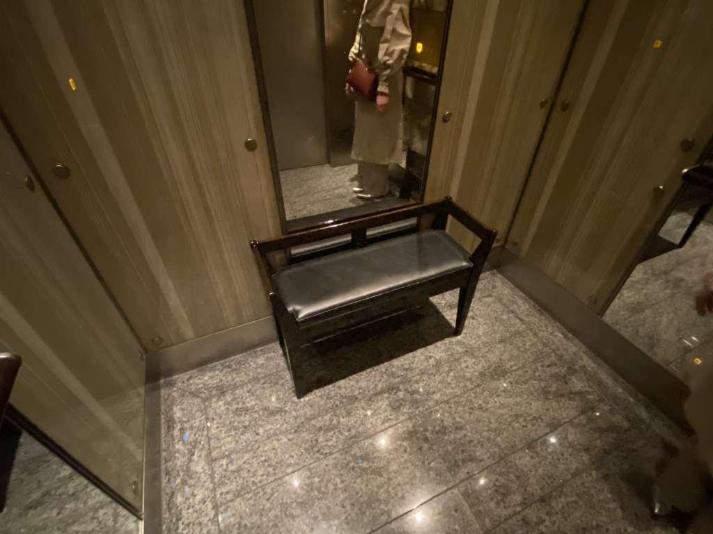 マンダリンオリエンタル東京,エレベーター