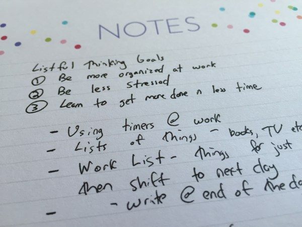 Listful Thinking Notes