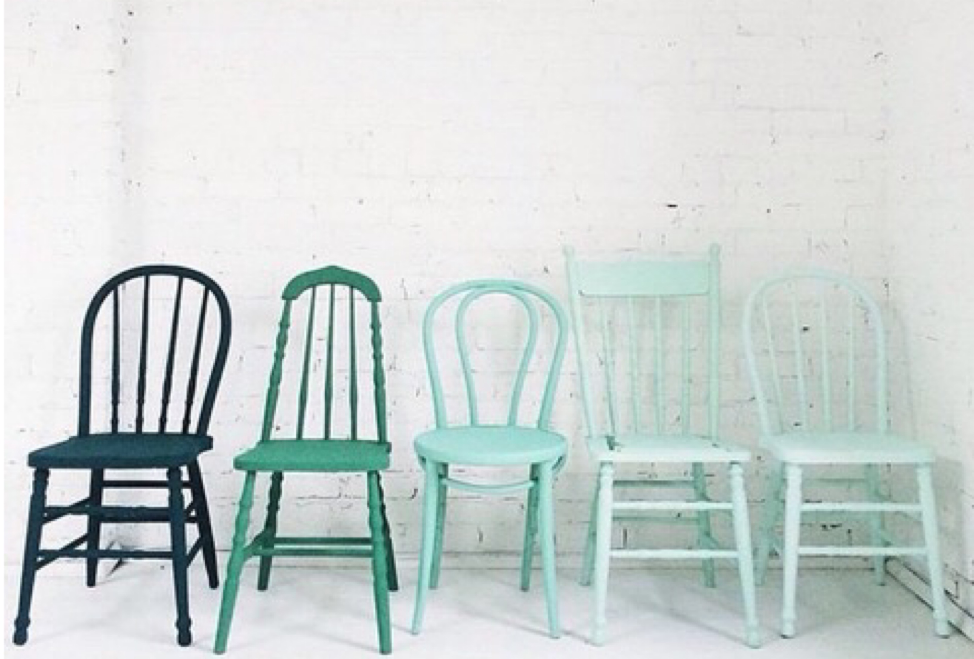 diy painted windsor chairs green upholstered chair chalk tabella talks as a project it is loads of fun going from various antique shops street fairs and estate sales to find the right mix