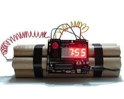 reloj bomba
