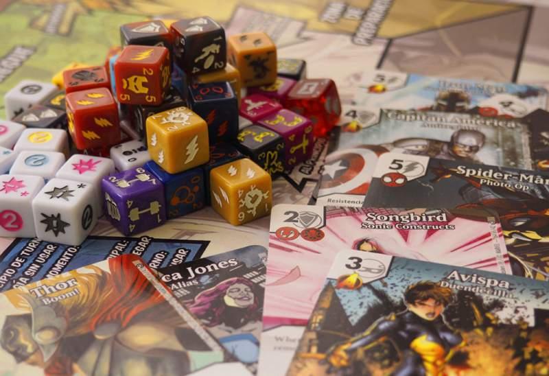 Dice masters - juegos coleccionables