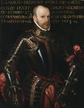 Conde de Egmont - San Quintín